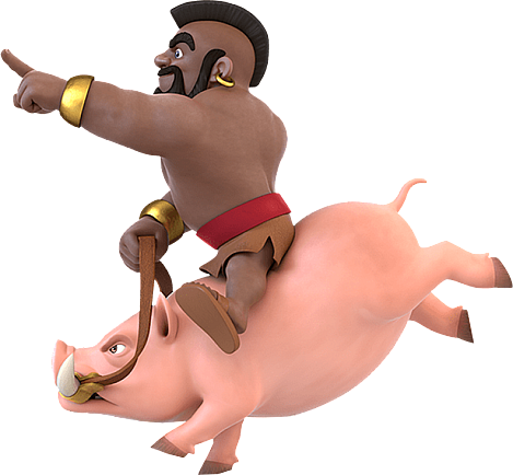 Clash of Clans cutout