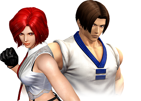 The King of Fighters XIV cutout