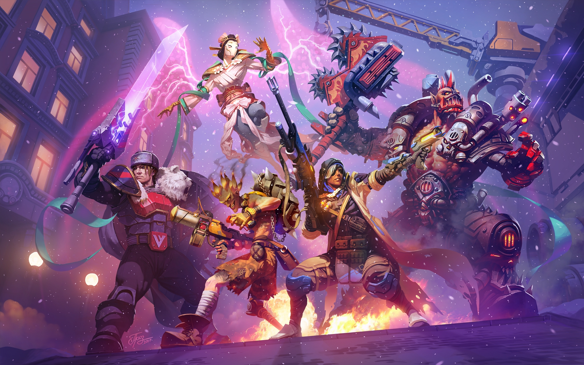 Heroes of the Storm artwork