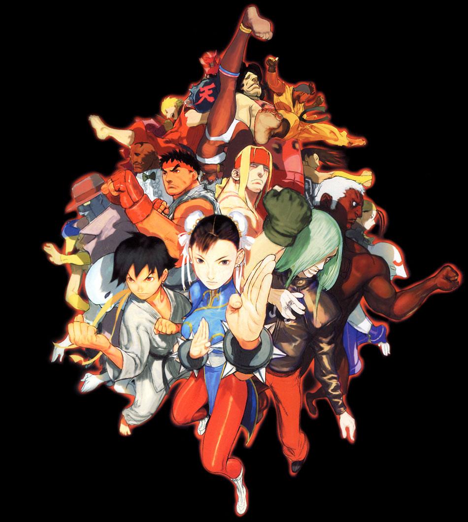 Street Fighter III: 3rd Strike artwork