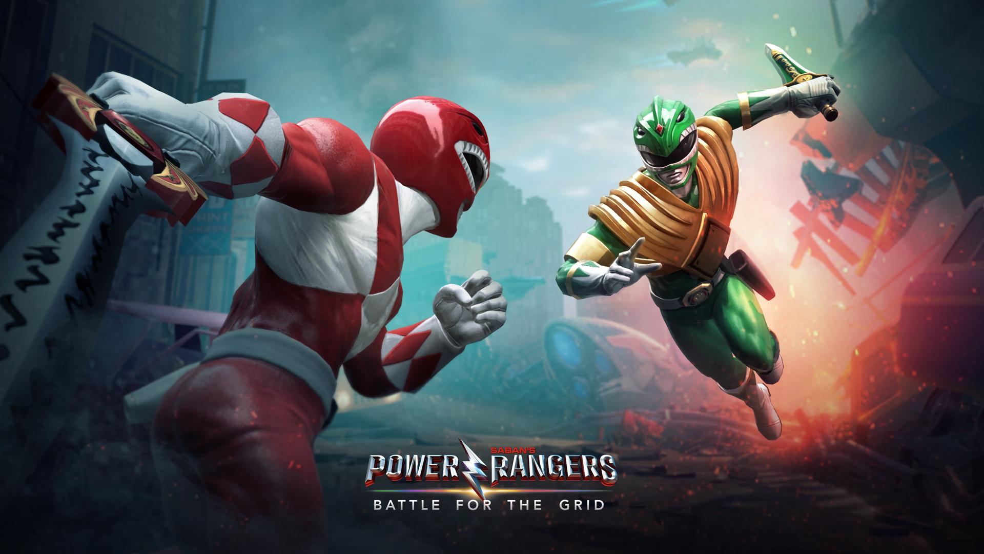 Power Rangers: Battle for the Grid artwork