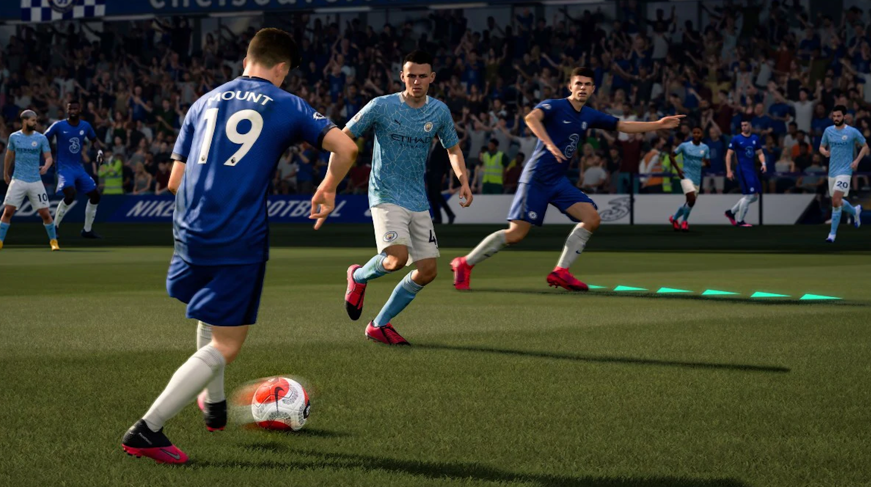 FIFA 21 artwork