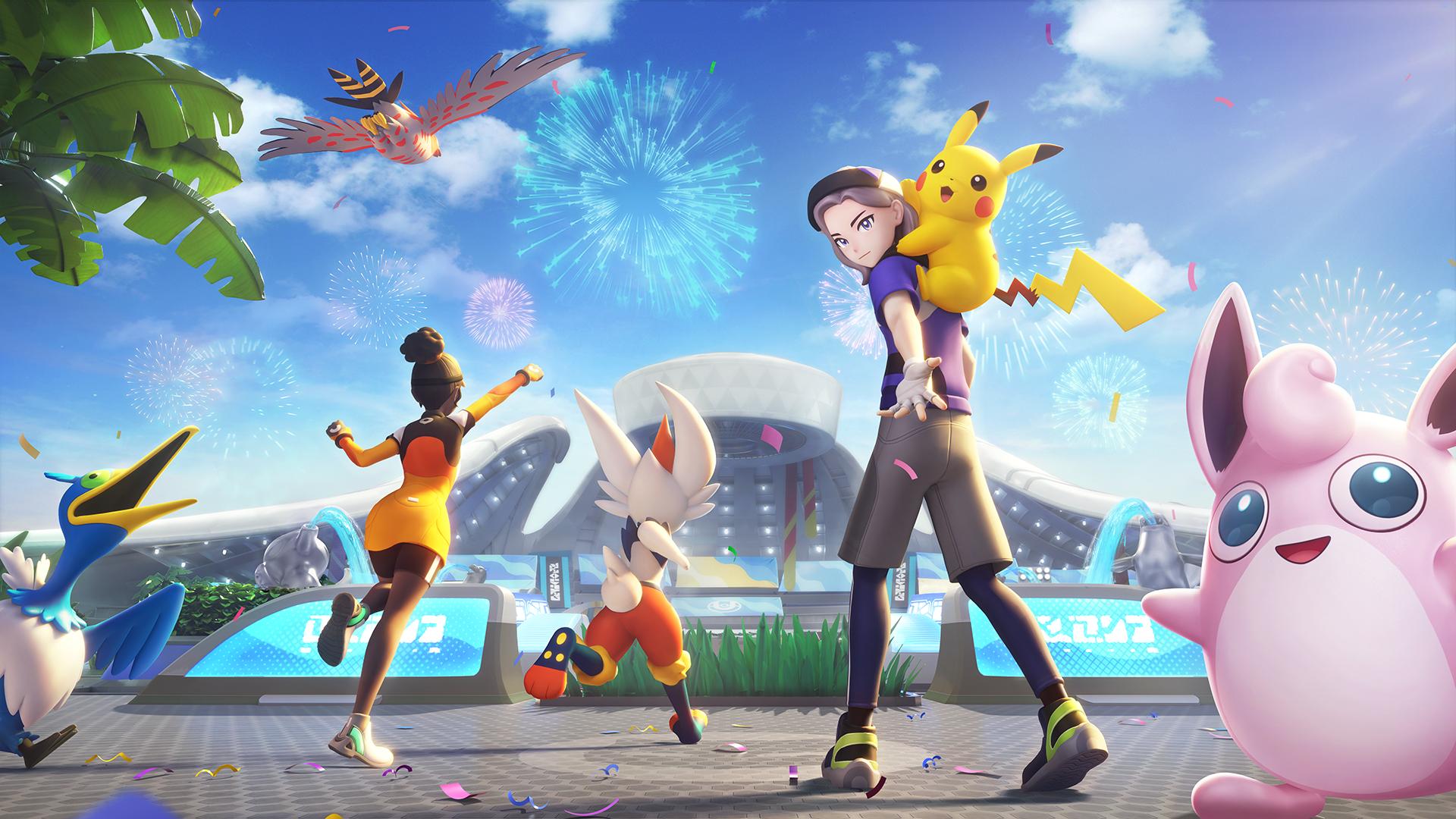 Pokémon Unite artwork